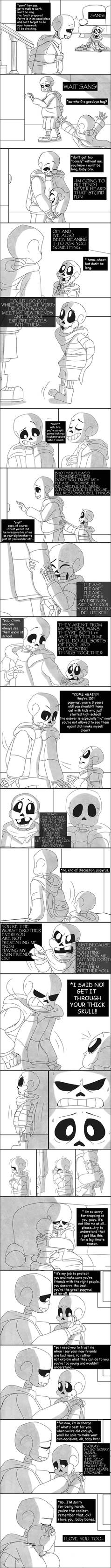 You don't understand yet (babybones comic)