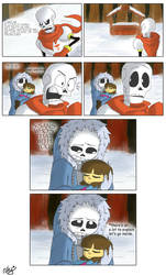 Regret - Page 4 (Undertale comic)