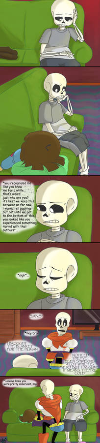 Regret - Page 5 (Undertale comic)