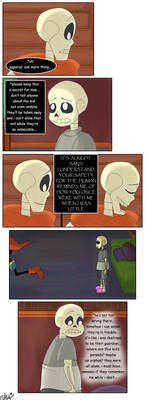 Regret - Page 7 (Undertale comic)