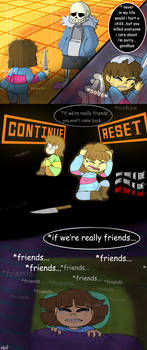 Regret - Page 8 (Undertale comic)