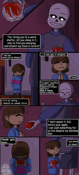 Regret - Page 11 (Undertale comic)
