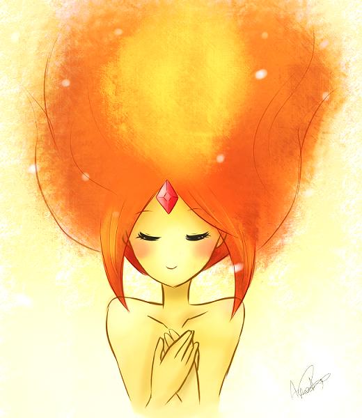 Flame Princess by Akira035