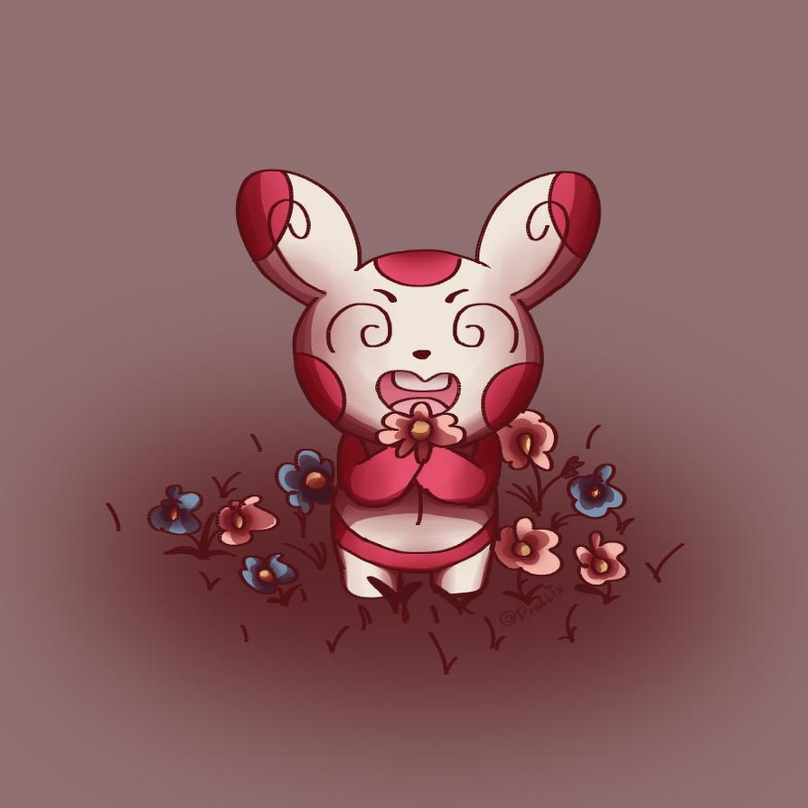 Spinda's Flower by Rrabbix