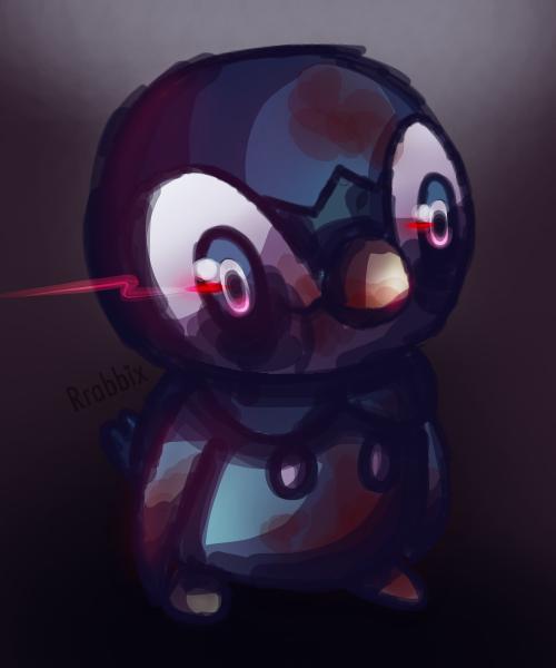 Dark Piplup by Rrabbix