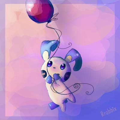 Minun Floats by Rrabbix
