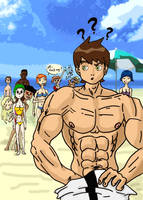 Ben 10 - on the beach by CuttyBay