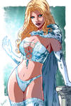 Emma Frost colored