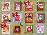 Christmas portraits by maistromanuel