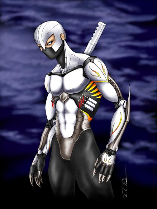 Cyborg Ninja by eckanko on DeviantArt
