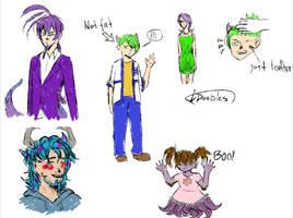 MI doodles