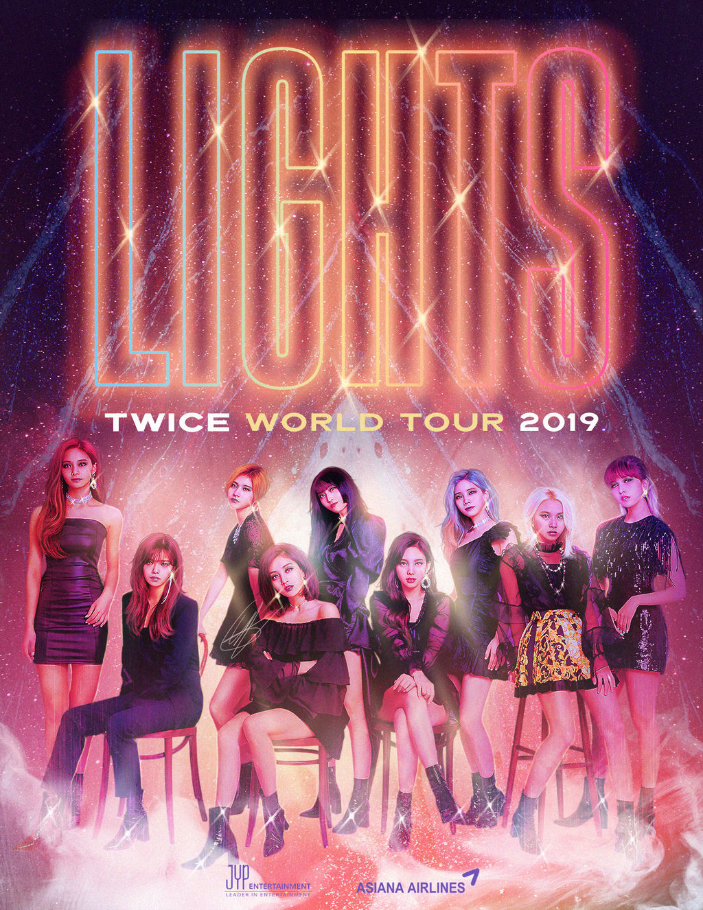 Twice Lights World Tour 2019 By Goldendesigncover On Deviantart