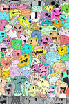 Doodle Monster Blocks (Colored)