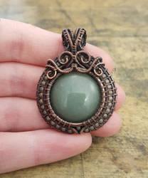 Little Green Pendant