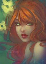 Mermaid of an Orange by ZARINAABZALILOVA