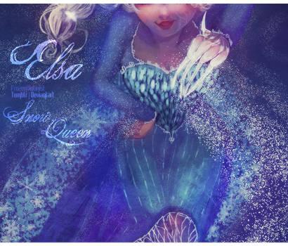 Frozen: Elsa by ZARINAABZALILOVA