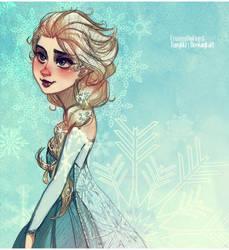 Frozen: the Snow Queen Elsa