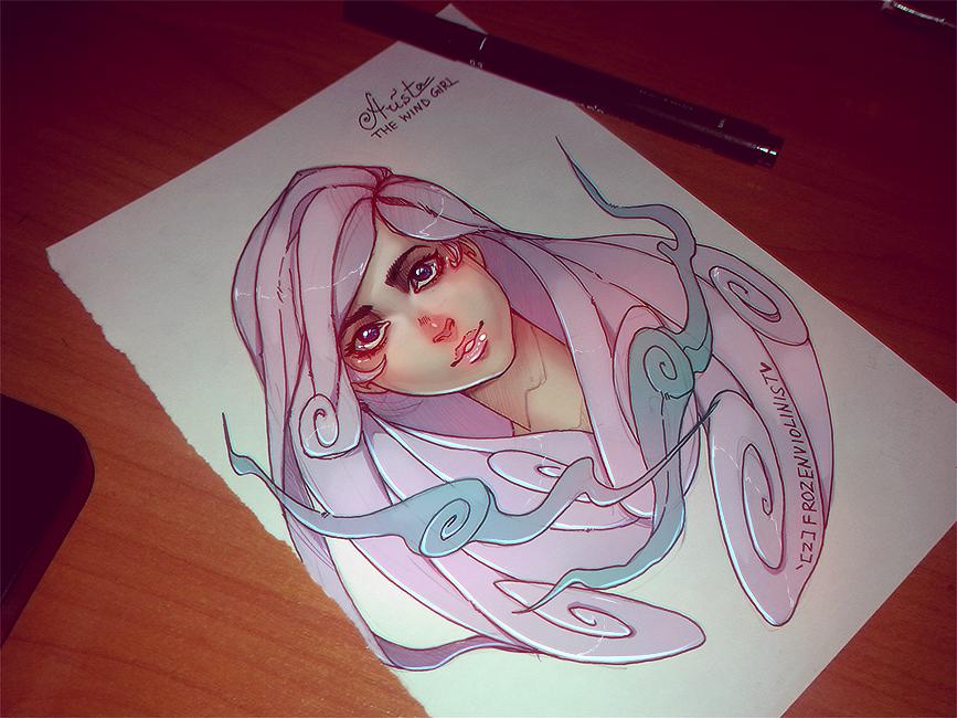 #1: Arista by ZARINAABZALILOVA