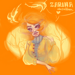 Draw this in your style: Magical Deer by ZARINAABZALILOVA