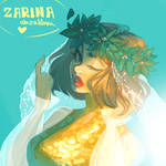 Draw this in your style: Christmas Holiday by ZARINAABZALILOVA