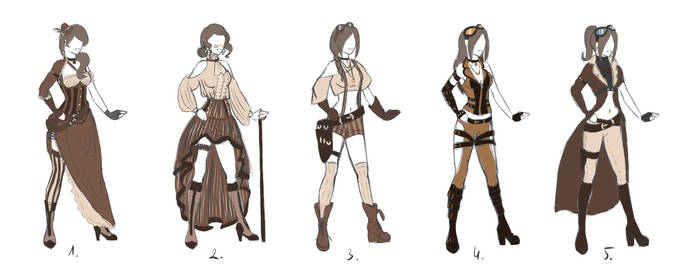 Steampunk cosplay: Which one?