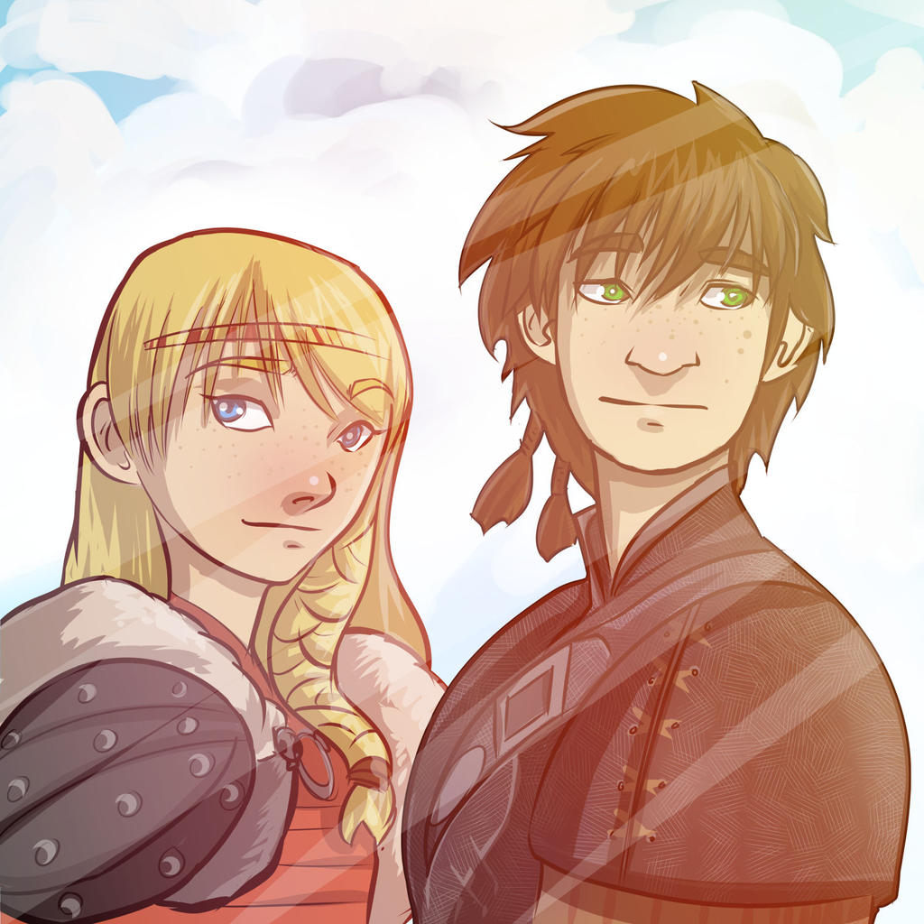 Young hiccup and astrid by cafcow on deviantart hiccup and astrid from how to train your dragon 2 by antzvu ccuart Image collections