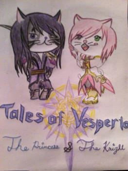 Tales of Vesperia: The princess and the knight
