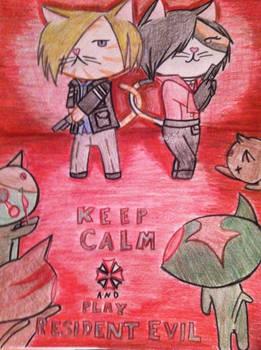 Resident Evil kittens