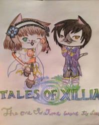 Tales of Xillia kittens