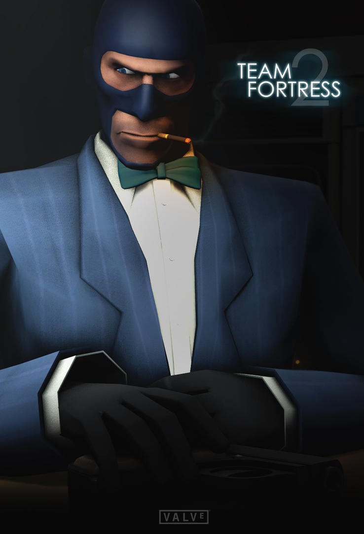 Team Fortress 2: Spy Poster [Casino Royale] by KlausHeissler