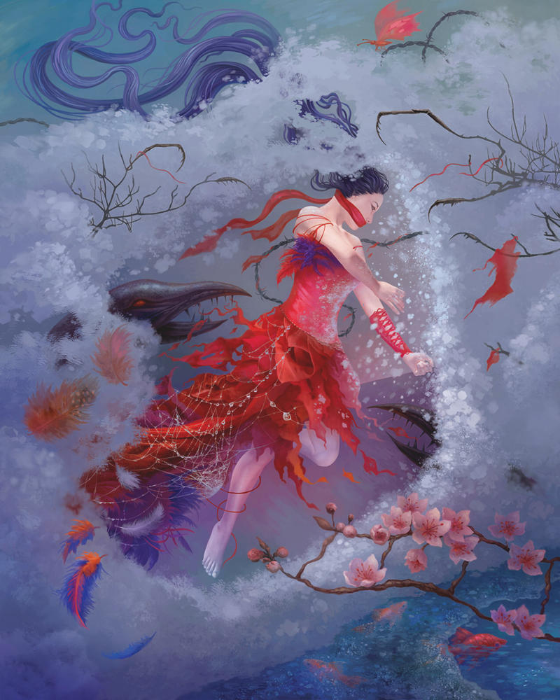 Escape from the Snow Captivity by KseniyaLvova