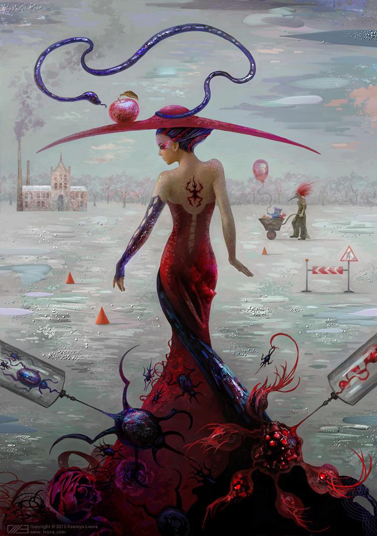 INNER WAR by KseniyaLvova