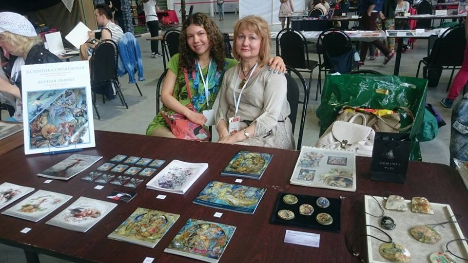 Moscow comic convetion, the authors alley