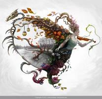 The Dance of Moments by KseniyaLvova