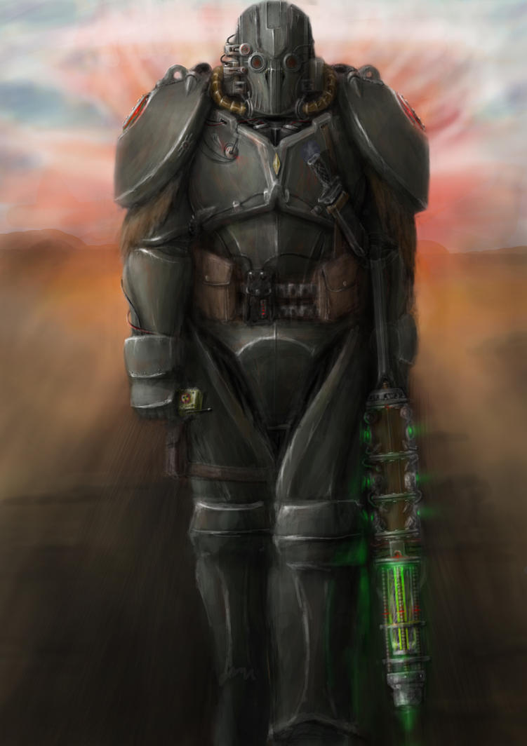 fallout style power armor by hammk
