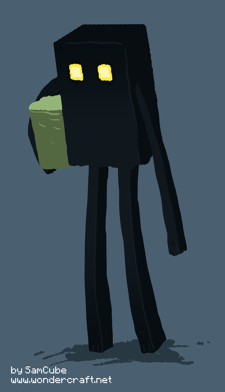 Enderman by WonderCraft