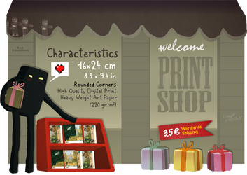 Print Shop Web Illu by WonderCraft