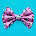Micro Mini Pink T-Rex Hair Bow