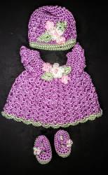 Crochet Newborn Set by BegetBaubbles