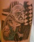 Harry Potter's Kreacher Tattoo