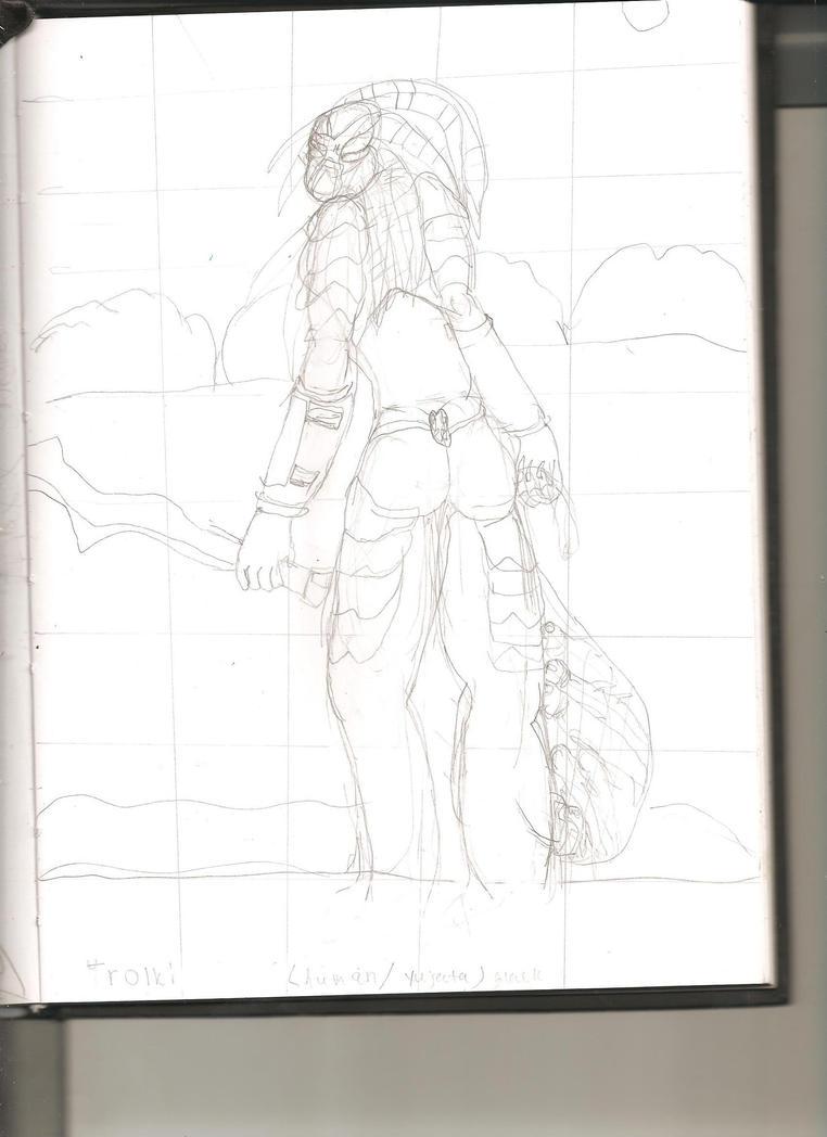Yu'taili the Huntress by xarockolipsekittenx