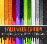 Dripping Glitter - Halloween Edition