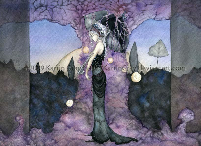 Shower of Twilight by KarrinGray