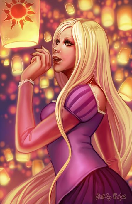Rapunzel by Kafai