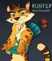 Hunter the Cheetah by TobyKitten