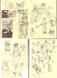Sketchdroppings 2 by kasai