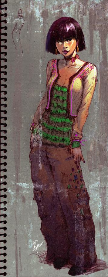 Pukayo's fashion design by kasai