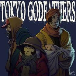 Tokyo Godfathers by kasai