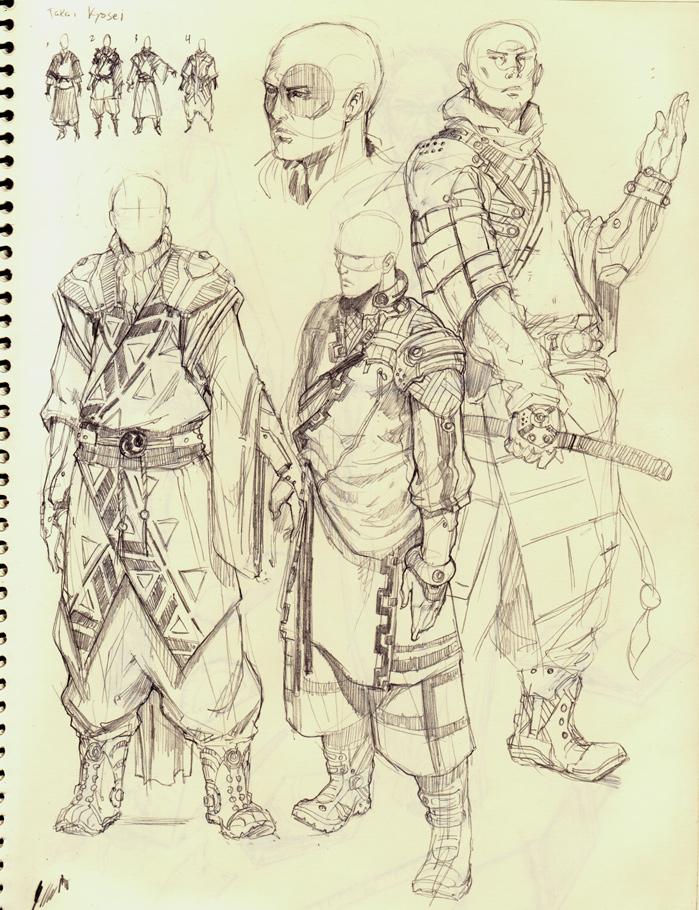 ICHIDO - The Young Monk by kasai