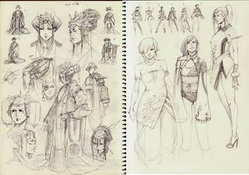 ICHIDO - The Princess of Nihon by kasai
